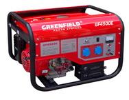Бензиновый генератор Green Field GF4500E (LT 4500 DXE)