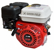 Бензиновый двигатель Green Field GF 168 F-1 (GX200)