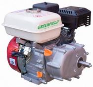 Двигатель с редуктором Green Field GF 170 F-R (GX210)