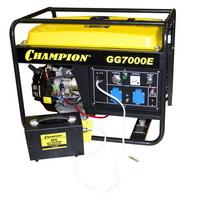 Бензиновый генератор Champion GG 7000E   ATS   газоотвод