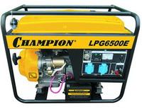 Бензиново-газовый генератор Champion LPG 6500E