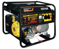 Бензиновый генератор Huter DY6500LX с дистанционным запуском