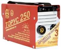 Сварочный аппарат инвертор аргон Торус 250 Экстра провода