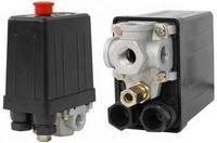 Реле (редуктор) давления на компрессор 4 выхода 220В