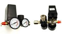 Реле (редуктор) давления на компрессор в сборе с манометрами